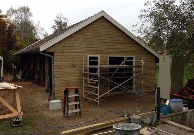 Verbouwing ruimte paardenstal atelier Hendriksen Bouw