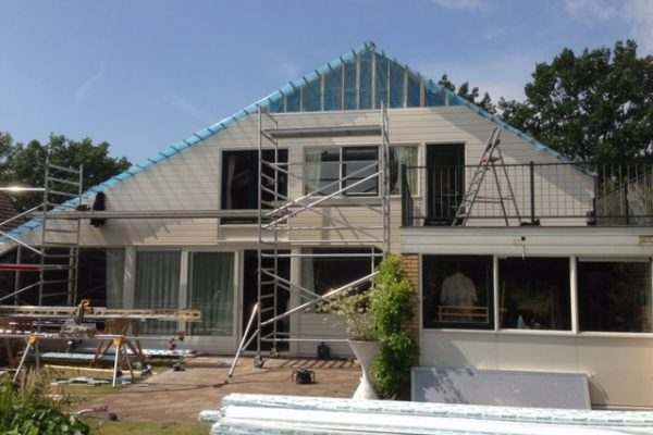 Renovatie gevelbekleding woning Hendriksen Bouw